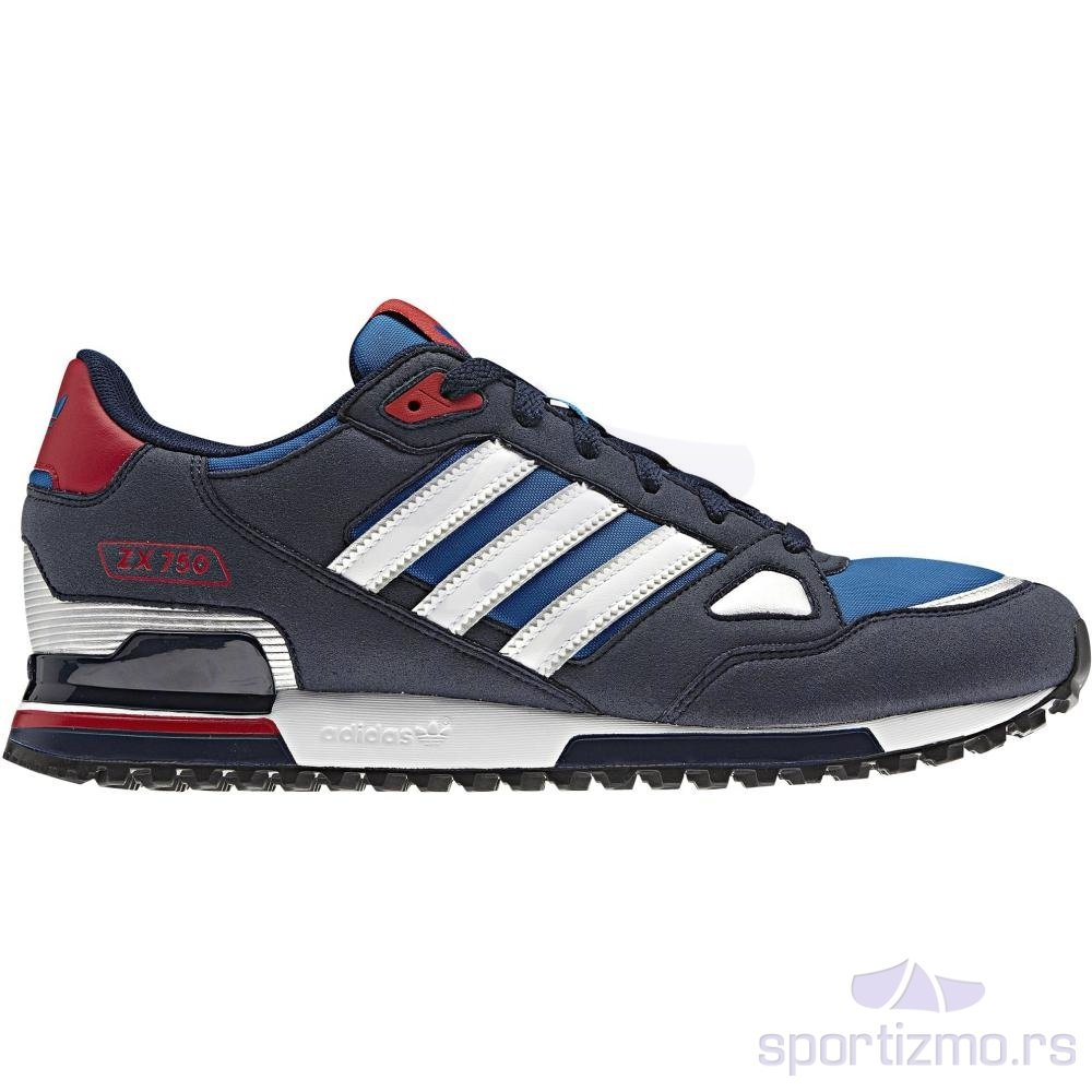 adidas zx 750 scarpe tempo libero uomo colore blu articolo. Black Bedroom Furniture Sets. Home Design Ideas