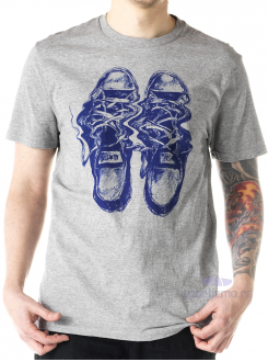 CONVERSE MAJICA Distorted Chuck Shoe Tee Men