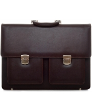PRINC TORBA Briefbag Brown Unisex (Goveđa koža)