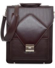 PRINC TORBA Shoulder Flap Men Brown (Goveđa koža)