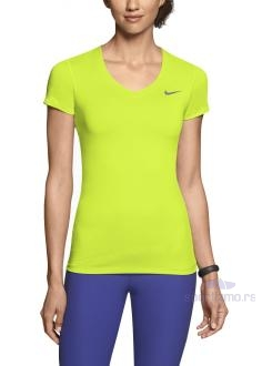 NIKE MAJICA Pro Core Fitted Short-Sleeve Women