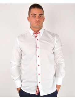 MARSHALL KOŠULJA Pure White (Slim Fit) - Nepeglajuća