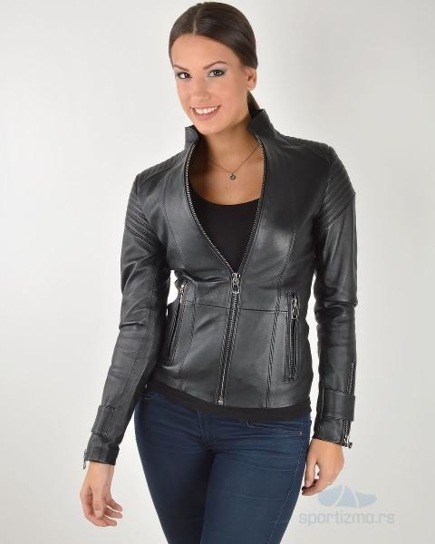 leder jakna black moto a18538 sportizmo online prodavnica. Black Bedroom Furniture Sets. Home Design Ideas