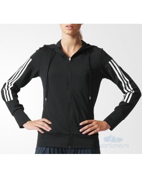 adidas duks gym hoody woman a24494 sportizmo online prodavnica. Black Bedroom Furniture Sets. Home Design Ideas