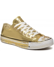 CONVERSE PATIKE Chuck Taylor All Star Chrome Leather Women