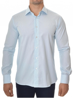 MARSHALL KOŠULJA Light Blue Line (Slim Fit)