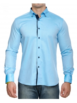 MARSHALL KOŠULJA Light Blue Elegant (Slim Fit)