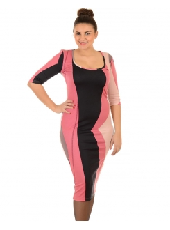 BEJOY HALJINA Damara Pink-Black