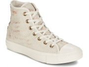 CONVERSE PATIKE  Chuck Taylor All Star Distressed Sequins Hi Women
