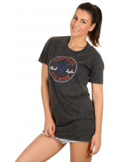 CONVERSE MAJICA Awt Chuck Patch Tee Dress Women
