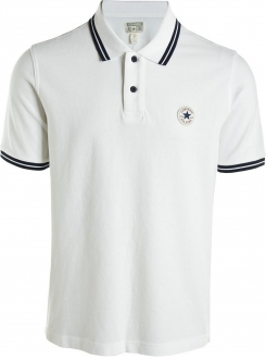 CONVERSE MAJICA Core Pinstripe Polo White Men