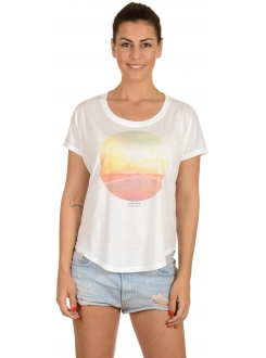 CONVERSE MAJICA Journey Photo Scoop Tee Women