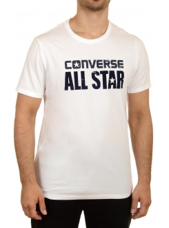CONVERSE MAJICA Heritage Graphic Tee White Men