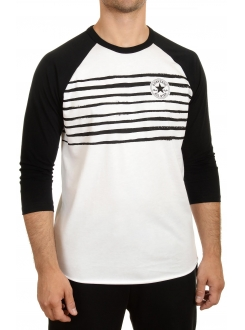 CONVERSE MAJICA Icon Stripes Raglan Men