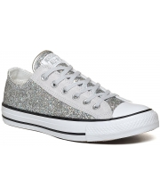 CONVERSE PATIKE Chuck Taylor All Star Ox Silver Glite Women