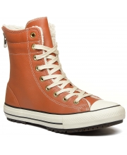 CONVERSE ČIZME Chuck Taylor All Star Hi-Rise Boot Leather Women