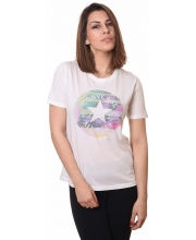 CONVERSE MAJICA Photo Fill Chuck Patch Crew Tee Women