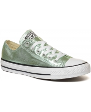 CONVERSE PATIKE Chuck Taylor All Star Seasonal Metallic Green Ox