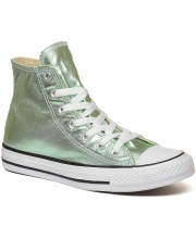 CONVERSE PATIKE Chuck Taylor All Star Seasonal Metallic Green Hi