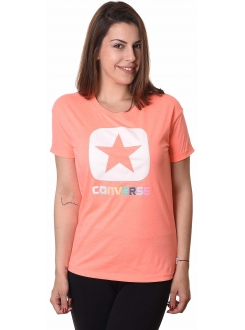 CONVERSE MAJICA Knitted SS Crew Tee Women