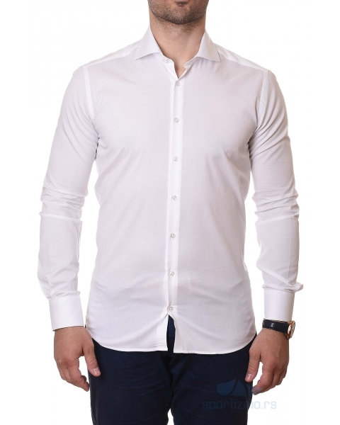 RANCCO KOŠULJA White Slim Fit Men