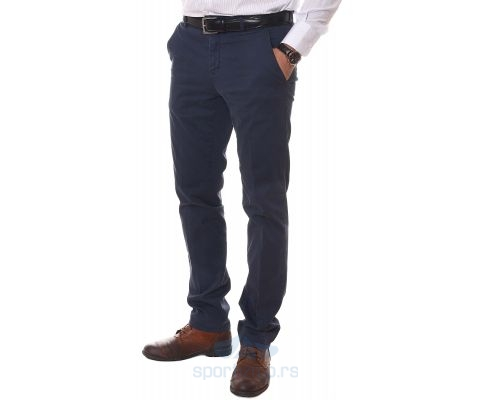 ERIC HATTON PANTALONE Tailored Blue Men