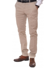 ERIC HATTON PANTALONE Tailored Beige Men
