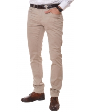 ERIC HATTON PANTALONE Tailored Light Beige Men