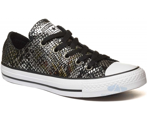CONVERSE PATIKE Chuck Taylor All Star Fashion Snake Leather Ox