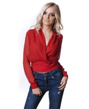 IRONI BLUZA Lap Red