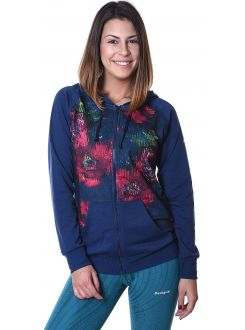DESIGUAL DUKS Hoodie Training Night Garden Women