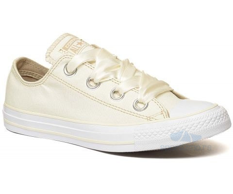 CONVERSE PATIKE Chuck Taylor All Star Big Eyelets Pastel Canvas Low Top Egret
