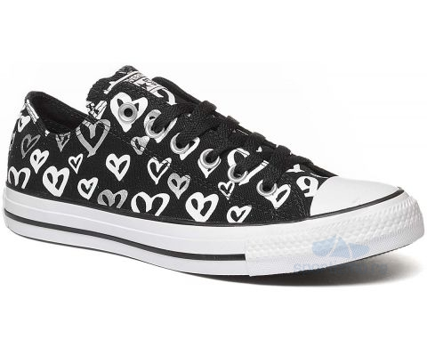 CONVERSE PATIKE Chuck Taylor All Star Bleeding Love Low Top Women