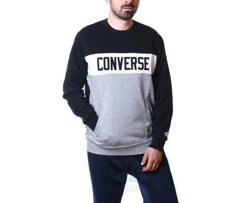 CONVERSE DUKS Colorblock Crew Sweatshirt Men
