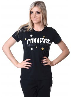 CONVERSE MAJICA Essentials Metallic Star Tee Women