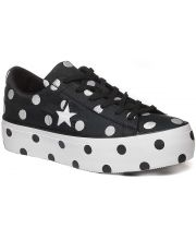 CONVERSE PATIKE One Star Polka Dot Platform Ox Women