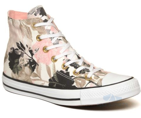 CONVERSE Chuck Taylor All Star Floral Print High Top