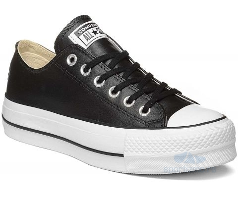 CONVERSE PATIKE Chuck Taylor All Star Lift Clean Leather Women