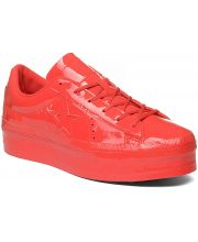CONVERSE PATIKE One Star Platform Patented 90 Leather Women