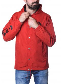 CONVERSE Hooded Coaches Jacket Man