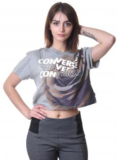 CONVERSE MAJICA Rose Easy Crop Tee Women