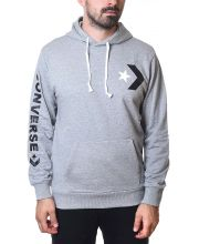 CONVERSE DUKS Star Chevron Pullover Hoodie Vintage Grey Heather Men