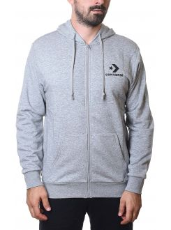 CONVERSE DUKS Star Chevron Full-Zip Hoodie Vintage Grey Heather Men