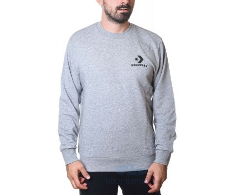 CONVERSE DUKS Star Chevron Graphic Crew Vintage Grey Heather Men