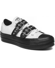 CONVERSE Chuck Taylor All Star Lift Buckle Leather Low Top