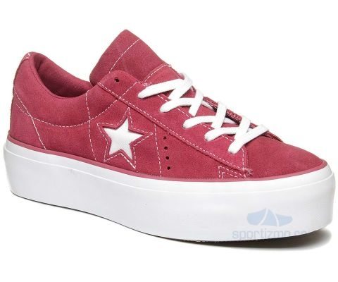 CONVERSE PATIKE One Star Platform Suede Ox