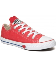 CONVERSE PATIKE Chuck Taylor All Star Denim Love Kids