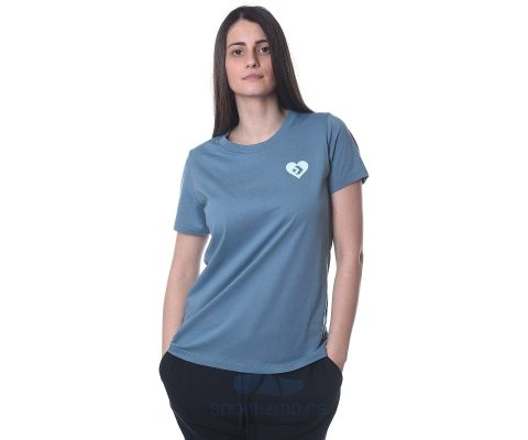 CONVERSE MAJICA Love the Progress Tieback Tee Women