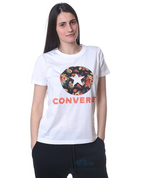CONVERSE MAJICA Converse In Bloom Floral Tee Women