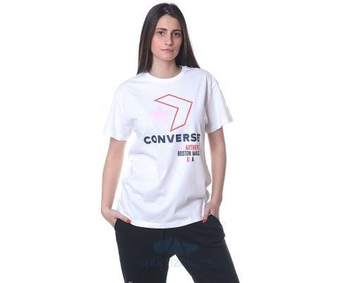 CONVERSE MAJICA Star Chevron Remix Tee Women